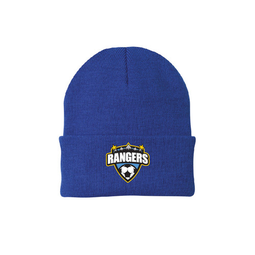 Rangers Fan Knit Cap