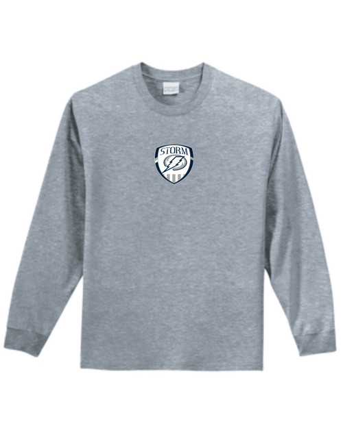 SQHS Boys Soccer 2021 Cotton Long Sleeve T-shirt