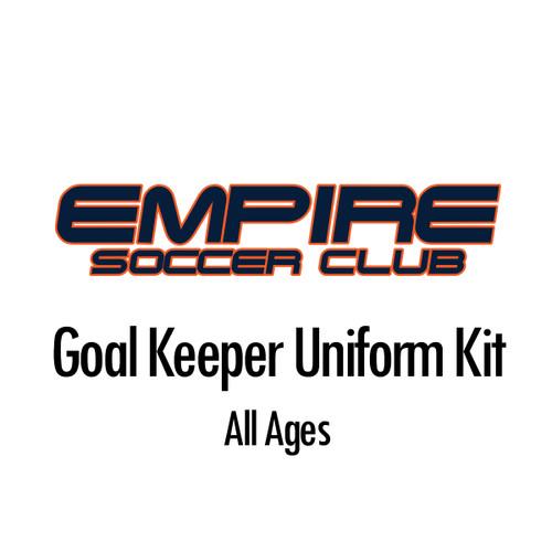 Empire Goal Keeper Uniform Kit *BUNDLE*