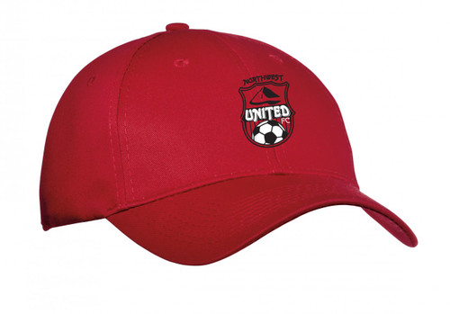 Northwest United Baseball Cap, Red