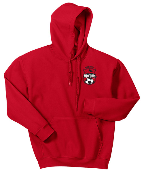 Northwest United Hoodie, Front, Red