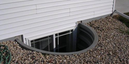 Image of Window or Door Well by Crawl Space Ninja