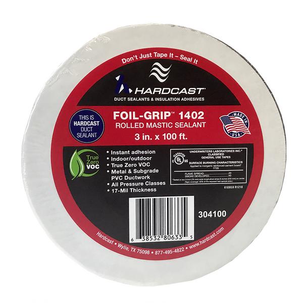 Image of Hard Cast Foil Grip 1402 Mastic Tape