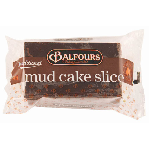 An individually wrapped chocolate mud cake. Glazed with chocolate frosting. Perfect for chocolate lovers.