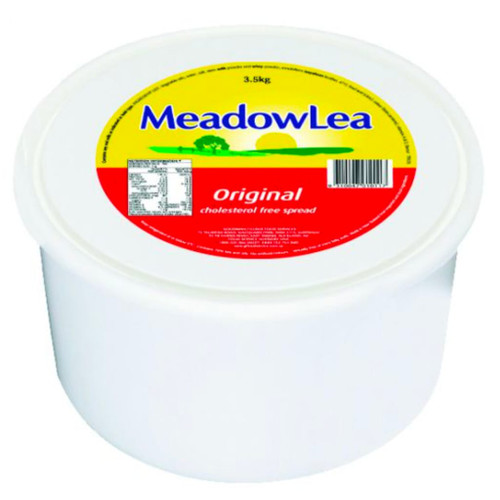 Meadow Lea spread contains 65% less saturated fat than butter. Easily spreads. Use it as a spread, an ingredient, for shallowing frying, baking or sauteing.