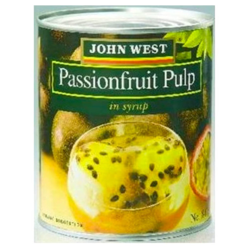 John West Passion Fruit pulp, prepared from the flesh of the whole ripe Passion Fruit. Perfect for drizzling over ice cream or cheesecakes, mix into your smoothies or stir through a fresh fruit salad.