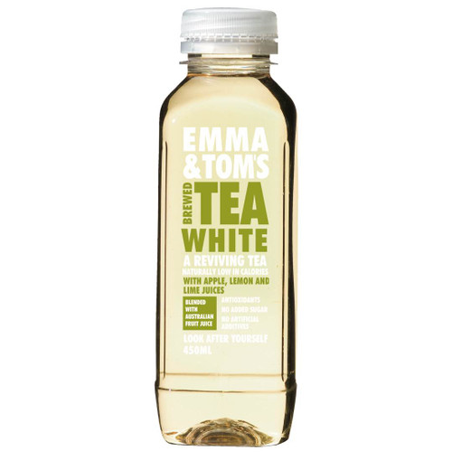 Our White Tea uses an unfermented Chinese strain of tea leaf (camellia sinensis). This will help stimulate circulation and revitalise your metabolism. It contains caffeine for that energy boost and the citrus notes from the apple, lemon and lime will re-invigorate your taste buds. Brewed White Tea, Reconstituted Apple Juice, Lemon Juice, Lime Juice.
