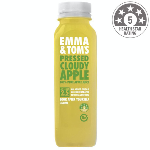 Nothing but Australian apples are pressed into this bottle of goodness. We know when someone wants an apple juice, they want that crisp, wholesome apple flavour, so we haven't filtered out any of the nutrients that help give it that robust taste. 100% apple juice, vitamin C.