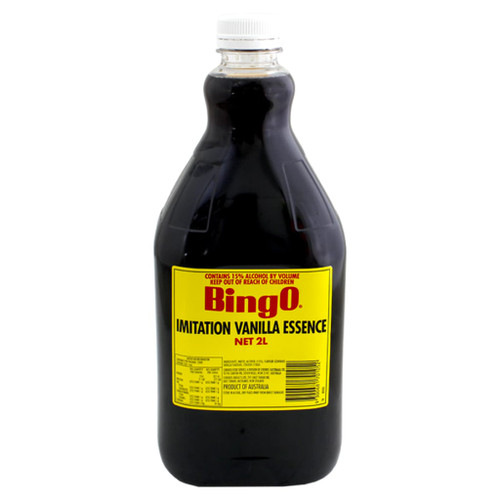 Bingo imitation vanilla essence is Australian made and has been produced to the highest quality standards to fulfil your flavouring requirements.