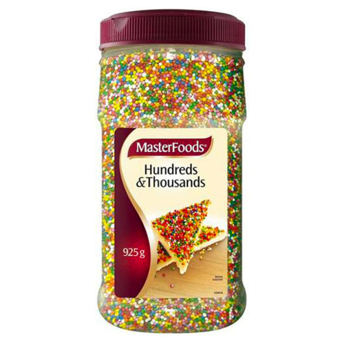 A colourful and crunchy texture to many Aussie desserts. Sprinkle on bread, cakes, muffins or your favourite ice cream.