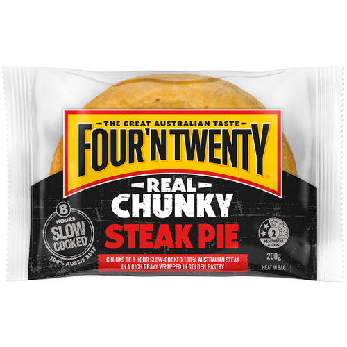 A high quality chunky pie that satisfies with tender chunks of steak, encased in our famous pastry.