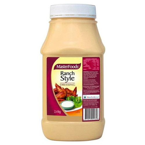 A rich and creamy buttermilk based dressing with a hint of mustard and a selected range of our famous spices.
