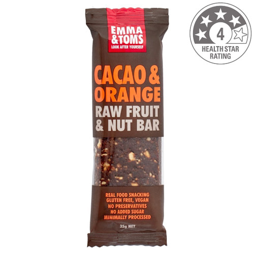 Orange and chocolate. Is there anyone that dislikes those two together? Our Cacao and Orange Life Bar uses raw cacao, which is unrefined and contains no added sugar. This is a chocolate bar you could give your kids. Make sure you buy some extras and hide them. Ingredients: Dates, Raw Cashews, Seedless Raisins, Cacao Powder, Cold Pressed Orange Oil.