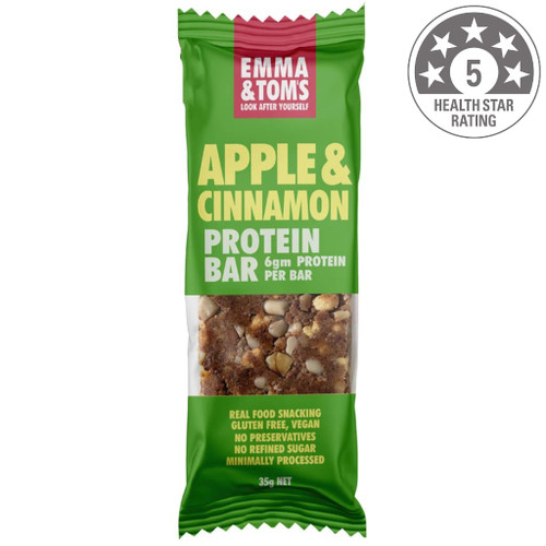 It is hard to find a great tasting protein bar without artificial ingredients in it. We feel your pain and that is why we have developed Emma & Tom's Vegan Protein Bars. They are made with naturally derived ingredients such as almonds, sunflower seeds, dried fruits and tahini. We use a combination of pea and soy proteins to give you the 9 essential amino acids for muscle growth.