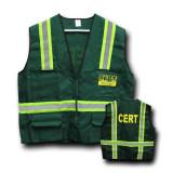 CERT Safety Jacket with Reflective Stripes