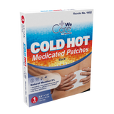 Cold Hot Medicated Patches - Back