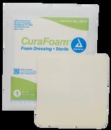 """CuraFoam Foam Dressing - 6""""x6"""""""