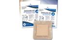 "SiliGentle AG Silver Silicone Bordered Foam Dressing - 4""x4"""