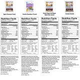 ReadyWise Entrée and Breakfast Emergency Food Supply - Nutritional Information (5 of 5)