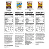 ReadyWise Entrée and Breakfast Emergency Food Supply - Nutritional Information (1 of 5)