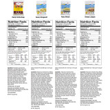 ReadyWise Entrée and Breakfast Emergency Food Supply - Nutritional Information (2 of 5)