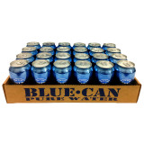 Blue Can Water - Case (24 Cans)