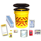 Basic Bucket Emergency Kit (1 Person) - Contents