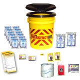 Basic Emergency Bucket Kit (2 Person) - Contents