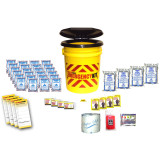 Basic Bucket Emergency Kit (4 Person) - Contents