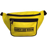 """Heavy-Duty """"SEARCH AND RESCUE"""" Fanny Pack (Front View)"""