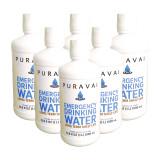 Puravai Emergency Drinking Water 1 Liter 6-Pack - 20 Year Shelf Life