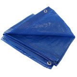 Blue Tarp with Grommets