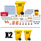Office Emergency Kit (100 Person) - Contents