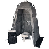 GO Anywhere Toilet System (Toilet, Privacy Shelter, 15 Toilet Kits, and Backpack)