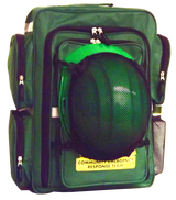 CERT Backpack with Optional Hard Hat Net Attached