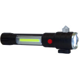 EP-LED300P Emergency LED Flashlight and Lantern with Flasher and Auto Tools - Front Angle