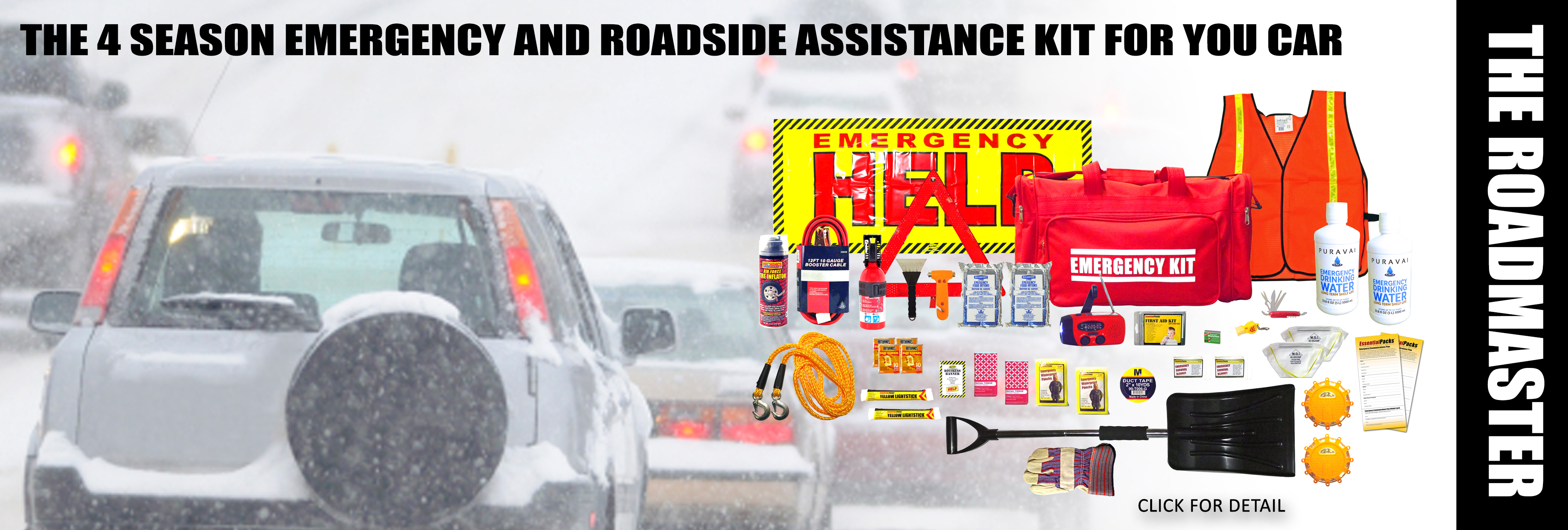 RoadMaster Emergency Kit