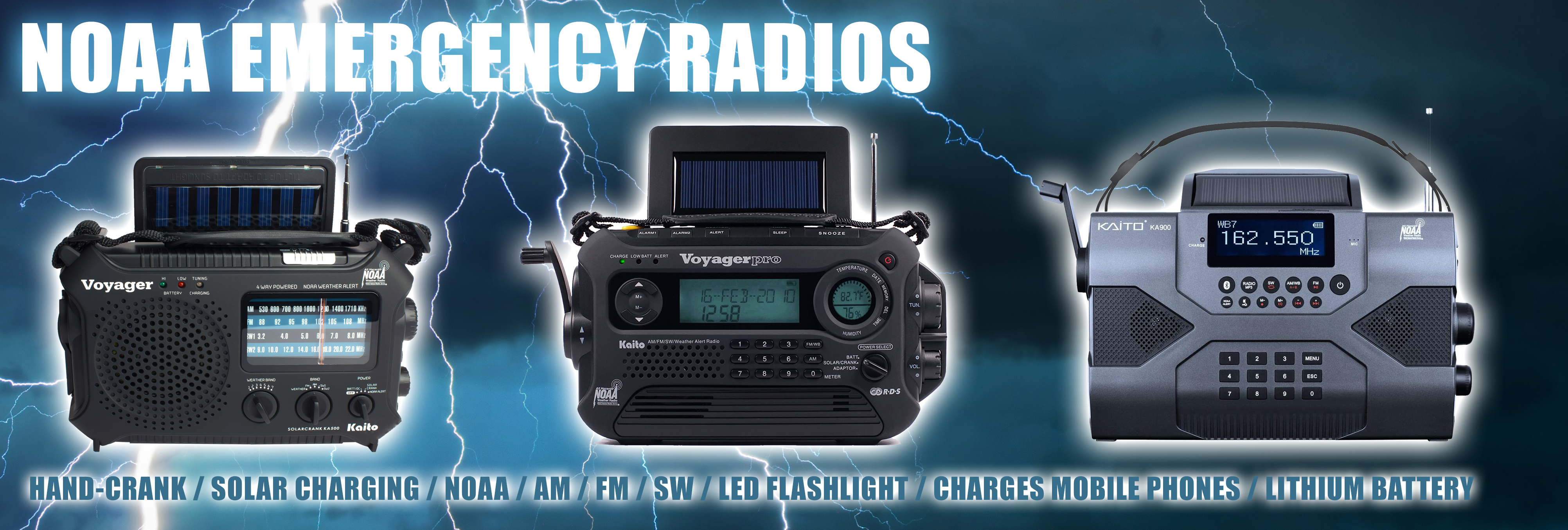 NOAA Emergency Radios