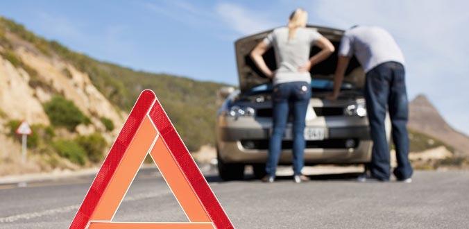 Be prepared for roadside emergencies