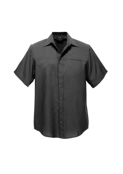 Mens Plain Oasis Short Sleeve Shirt SH3603