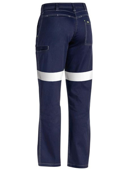 TENCATE TECASAFE® PLUS 580 TAPED LIGHTWEIGHT FR PANT BP8190T