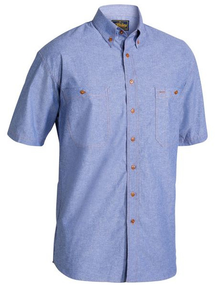 CHAMBRAY SHIRT - SHORT SLEEVE B71407