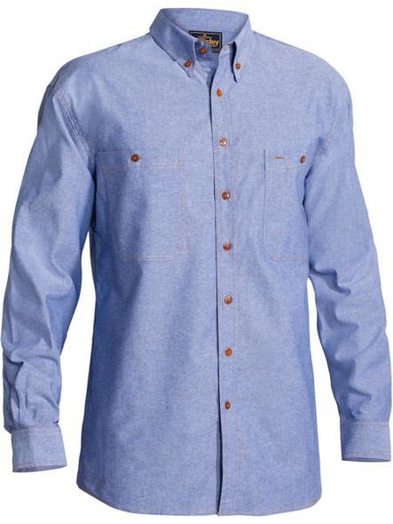 CHAMBRAY SHIRT - LONG SLEEVE B76407