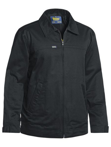 COTTON DRILL JACKET WITH LIQUID REPELLENT FINISH BJ6916