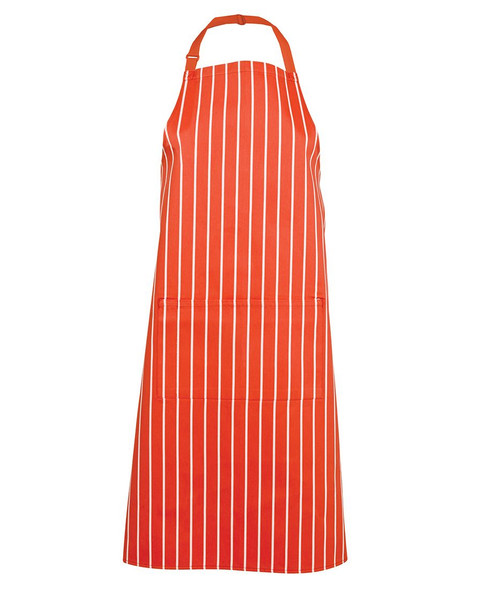 BIB STRIPED APRON WITH POCKET 5BS