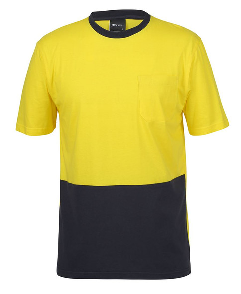 JB'S HI VIS COTTON T-SHIRT 6HVTC