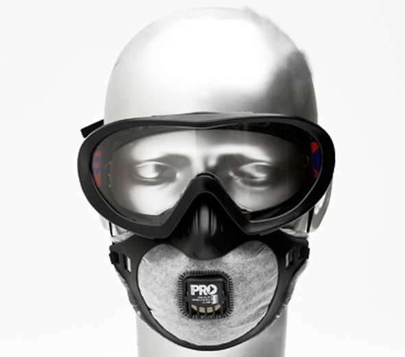 Filterspec Pro Goggle / Mask Combo P2+Valve+Carbon FSPG