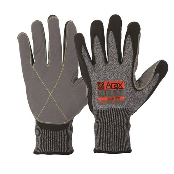 ProChoice® Arax® Ultra-Thin Foam Nitrile And Synthetic Leather Palm cut 5 AFND