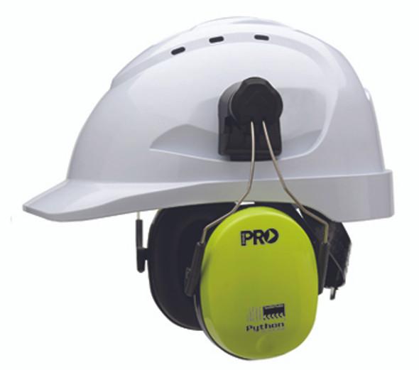 PRO CHOICE Python® Slimline Hard Hat Earmuffs Class 5, -31db- HHEMPYTS