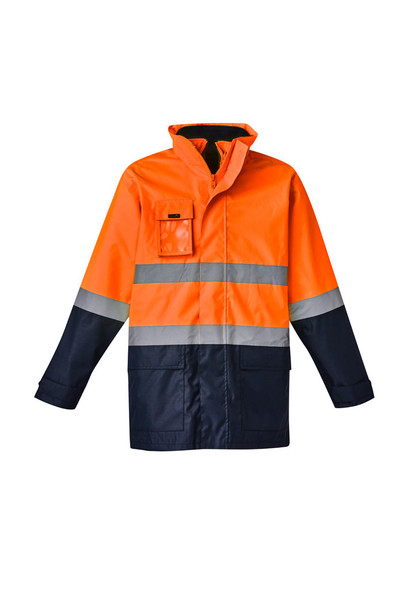 Mens Hi Vis Basic 4 in 1 Waterproof Jacket ZJ220
